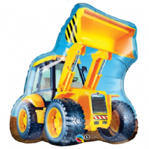 Construction Loader Large Foil Balloon 1pc